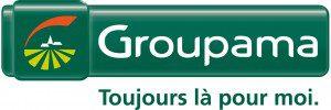 Groupama Signature logo Q 20cm
