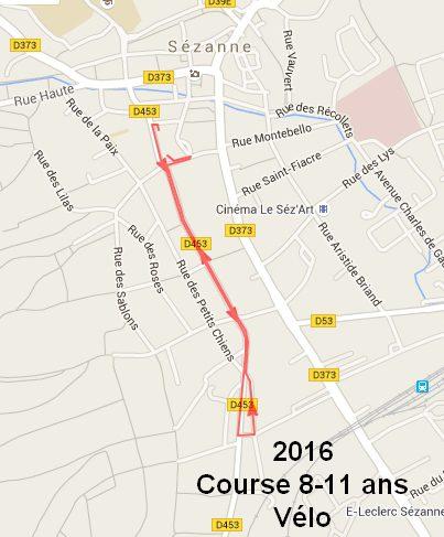 parcours vélo 8-11ans