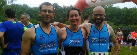 Triathlon des Lacs à LUSIGNY
