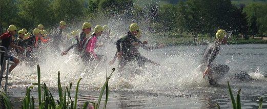 Triathlon d'AUTUN 1/2 finale championnat de France jeunes