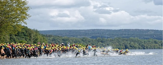 Triathlon des vieilles forges 2019