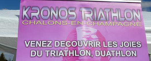 Initiation triathlon jeunes à Fagnières